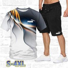 Summer, Shorts, fitnessclothe, Shirt