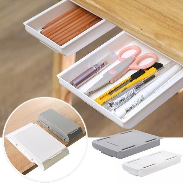 undertabledrawer, Box, drawer, Home Organization