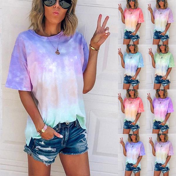 gradientcolor, Tops & Tees, Shorts, Tops & Blouses