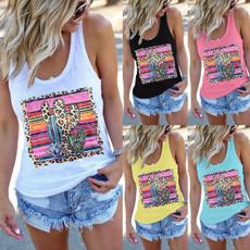 vesttop, Summer, Vest, teetshirt