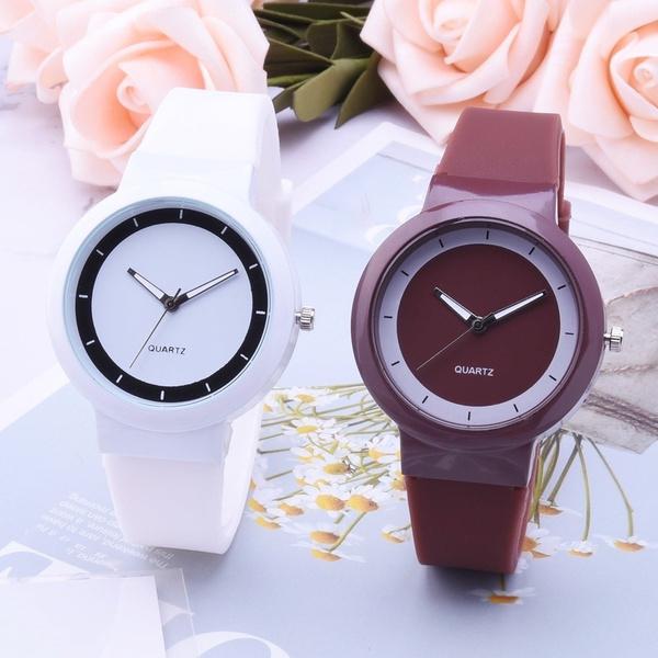 quartz, silicone watch, Fashion, couplewatch