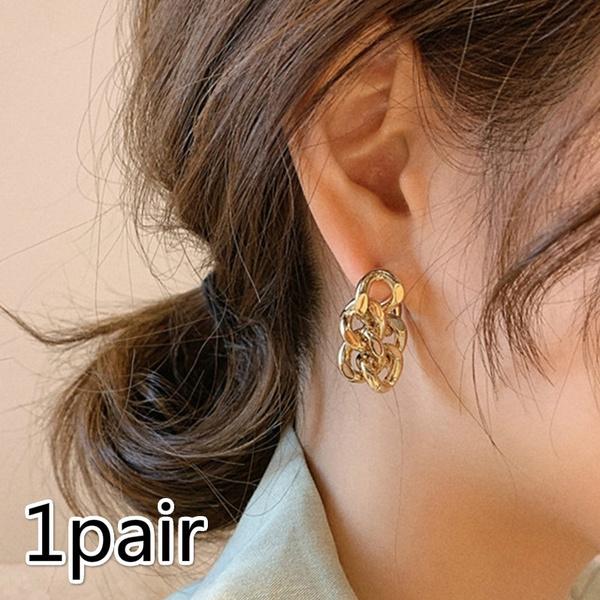 Fashion, Chain, Classics, ear studs