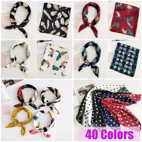 bandanasscarf, Fashion, Necks, silksquarescarf