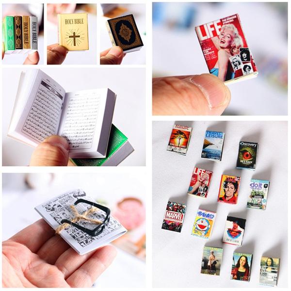 Mini, dollhousebook, minibook, dollhouseminiature