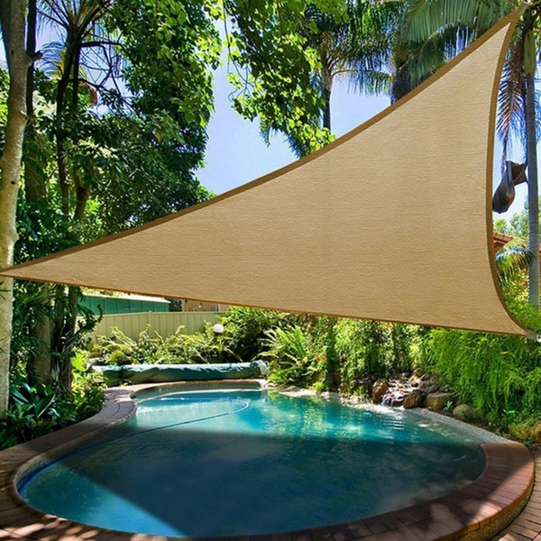 Portable Triangle Sun Protection Canopy, Portable Awning For Patio