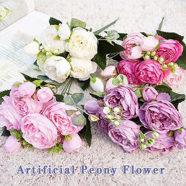 plasticflower, Beautiful, Bouquet, Spring