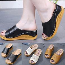 genuina, mujer, zapatilla, zapato