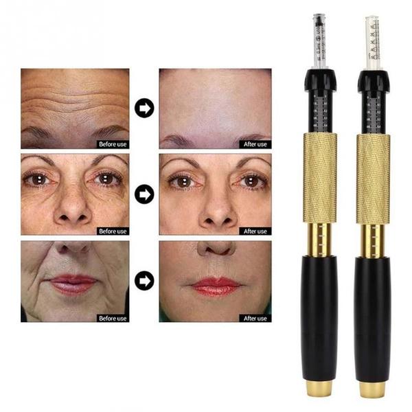 Skincare, skinwatersyringe, needlefreehyaluronicinjection, wrinklesremovalpen