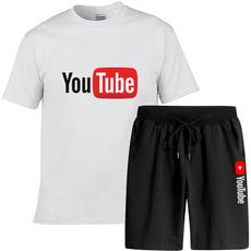 Mens T Shirt, Shorts, Cotton, Graphic T-Shirt