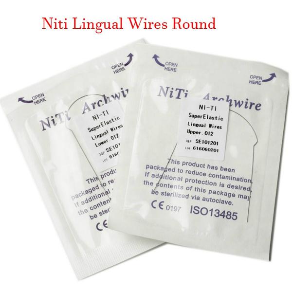lingualbracket, orthodonticlingualwire, nitilingualarchwire, dentalwire