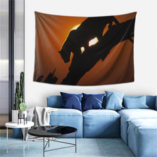 silhouette, Family, wallhangingtapestry, rockrebel