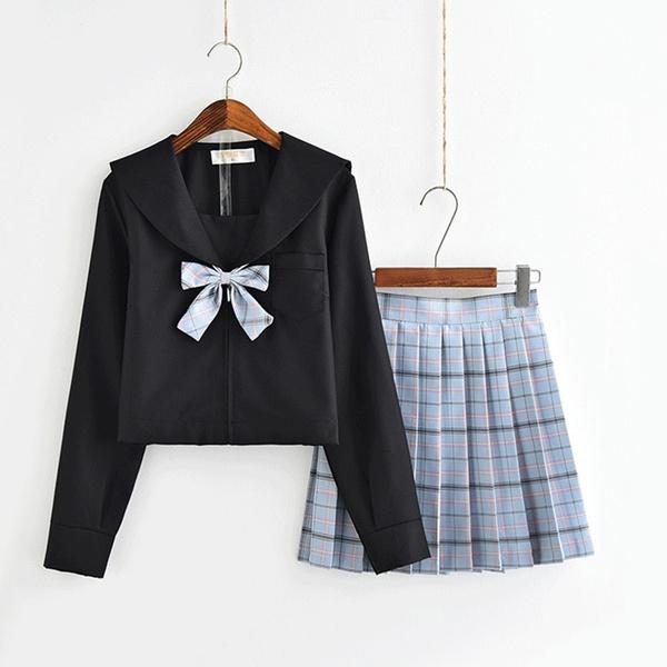 School, schoolgirlwear, japaneseset, Japanese