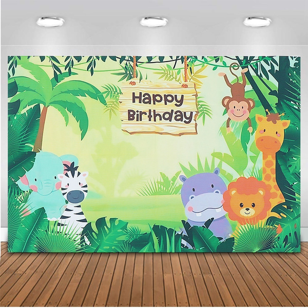 kidspartyfavor, junglepartydecoration, birthdaydecor, animalsphotographybackdrop