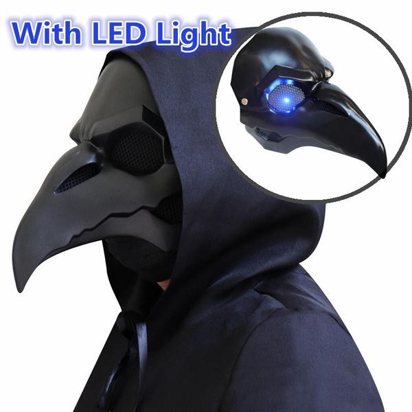 birdsbeakmask, lights, Cosplay, plaguemask