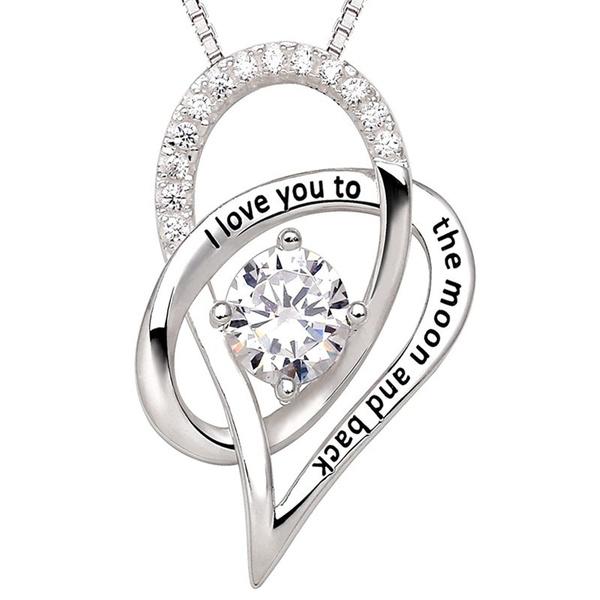 Sterling, Heart, Fashion, loversjewelry