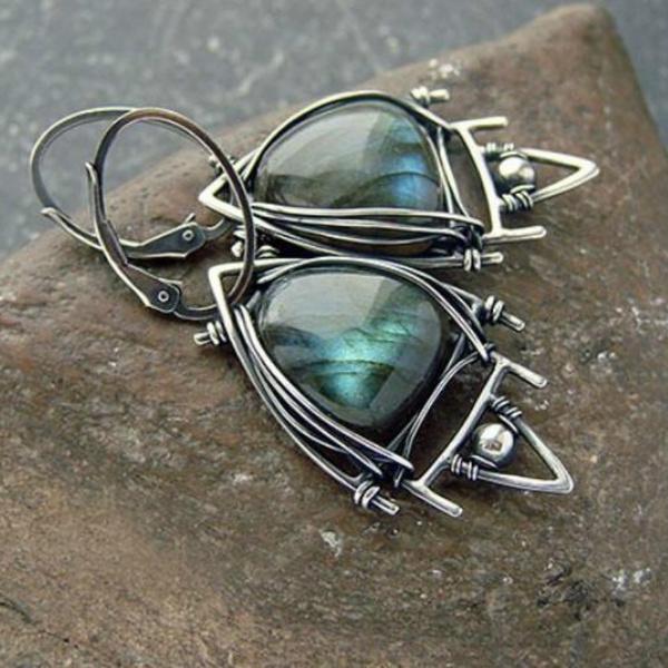 peacock, Dangle Earring, Gemstone Earrings, Stud Earring