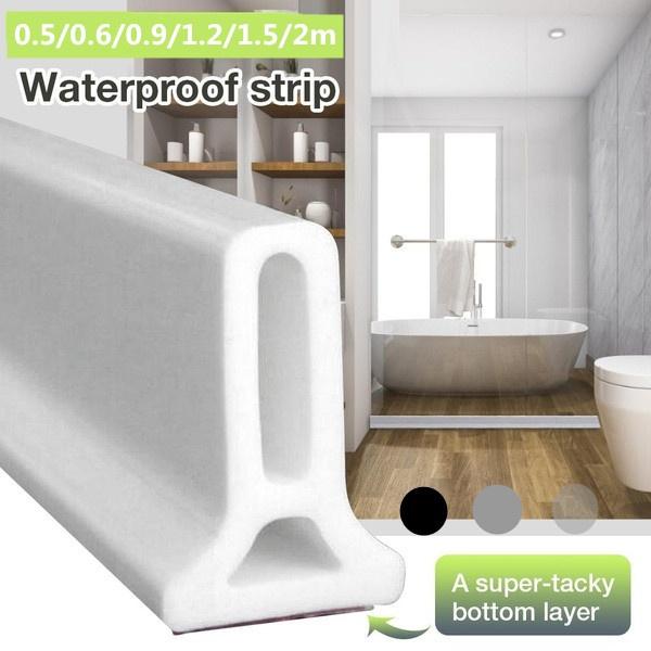 waterstopperstrip, Bathroom, waterbarrier, Silicone