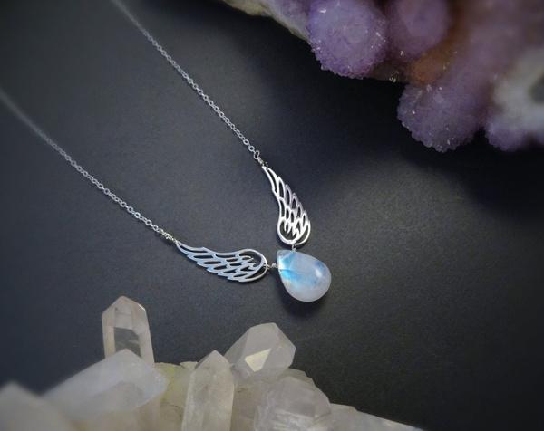 rainbow, Jewelry, Angel, peridot