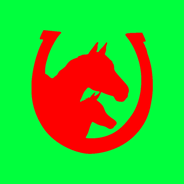 Car Sticker, horse, silhouette, 3dwallsticker