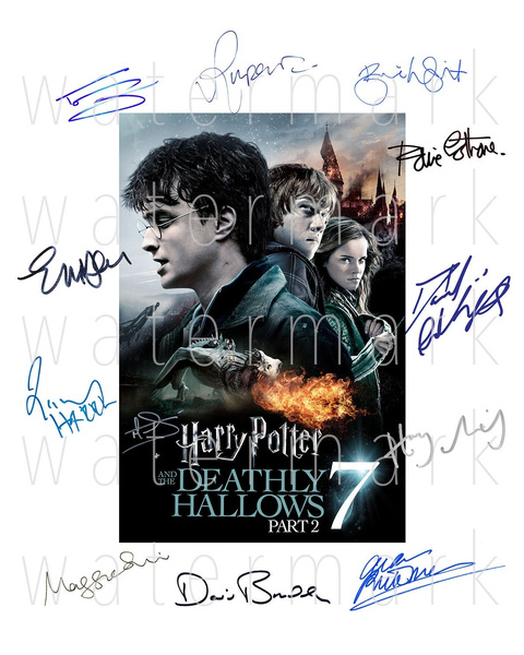 harrymelling, danielradcliffe, Photo, Signed