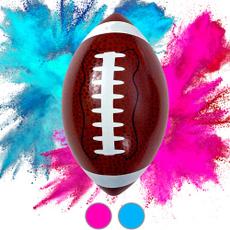 Blues, genderrevealidea, Football, genderrevealdecor