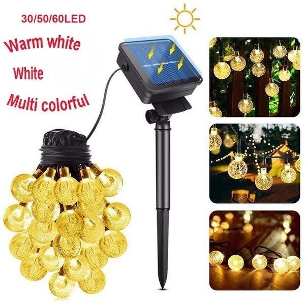 led, Garden, Waterproof, solarstringlight