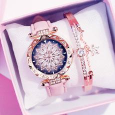 Charm Bracelet, quartz, Ladies Watches, fashion watches