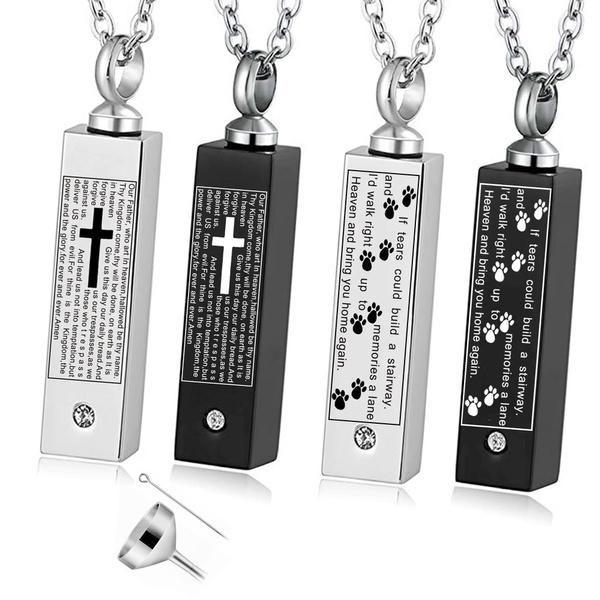 Steel, memorialjewelry, polished, Jewelry