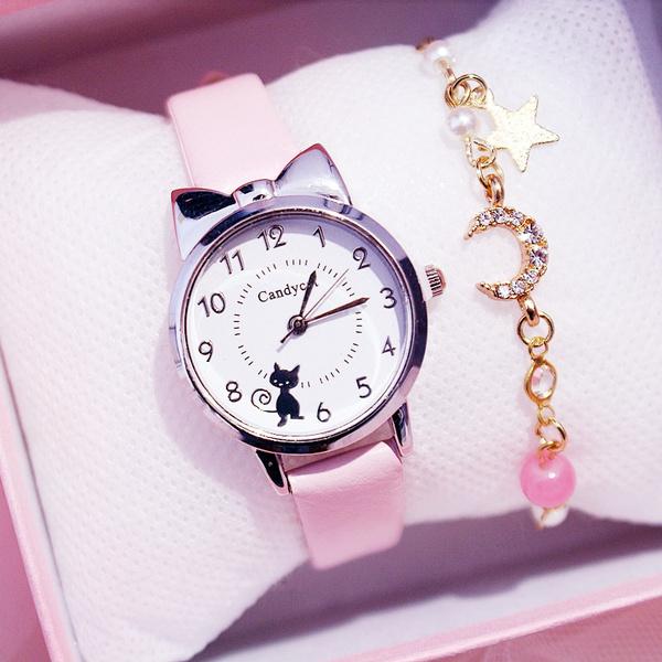 Charm Bracelet, pink, quartz, Gifts