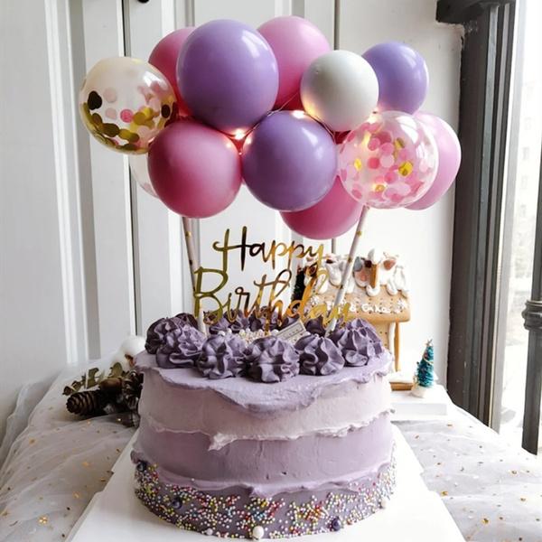 babyshowercaketopper, ballooncaketopper, birthdaycake, latex