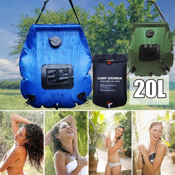 Summer, portableshowerbag, Outdoor, foldableshowerbag