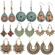 Hoop Earring, Jewelry, Stud Earring, Vintage