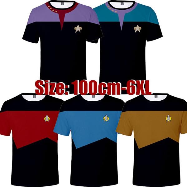 Star, startrekshortsleevetop, startrektshirt, Sleeve