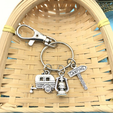 holidaycampinggift, lights, Key Chain, happycamperkeychain