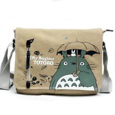 student backpacks, My neighbor totoro, cartoonbag, Capacity