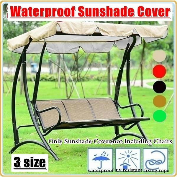 Outdoor, Garden, Waterproof, waterproofswingcanopycover
