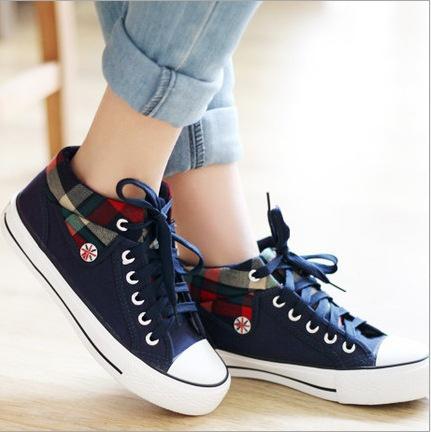 womencanvasshoe, Sneakers, Classics, Pure Color