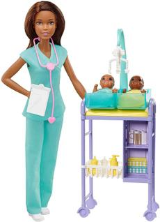 Playsets, Infant, brunette, doctor