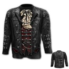 Goth, Cosplay, Sleeve, skull