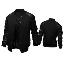 oneckmensjacket, Polyester, Sleeve, Long Sleeve
