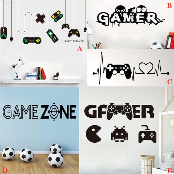 Console, eatsleepgamesticker, backgroundwallsticker, Stickers