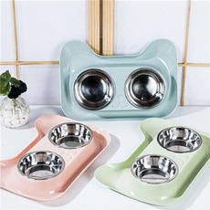 Steel, pet bowl, petaccessorie, Pets