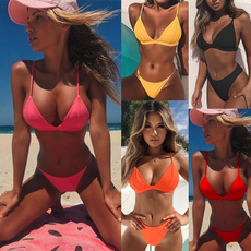 Fashion, bikini set, Simple, sexy bikini