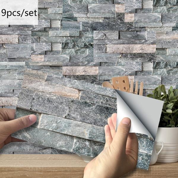 wallstickersampmural, Ceramic, tvwallsticker, 3dwallsticker