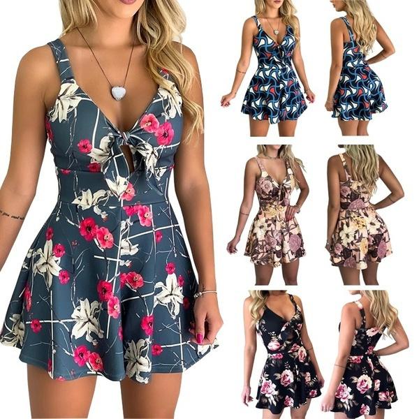 Summer, Dress, slim, strap