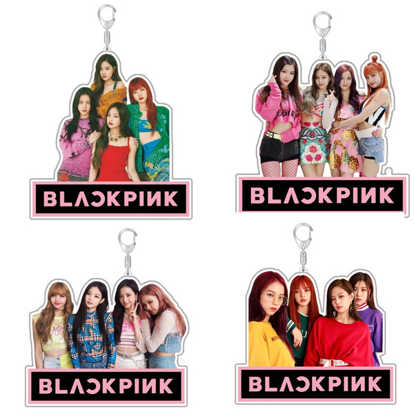 K-Pop, blackpinkacrylickeychain, Fashion, Key Chain