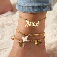 butterfly, beachankletchain, Moda, Butterflies