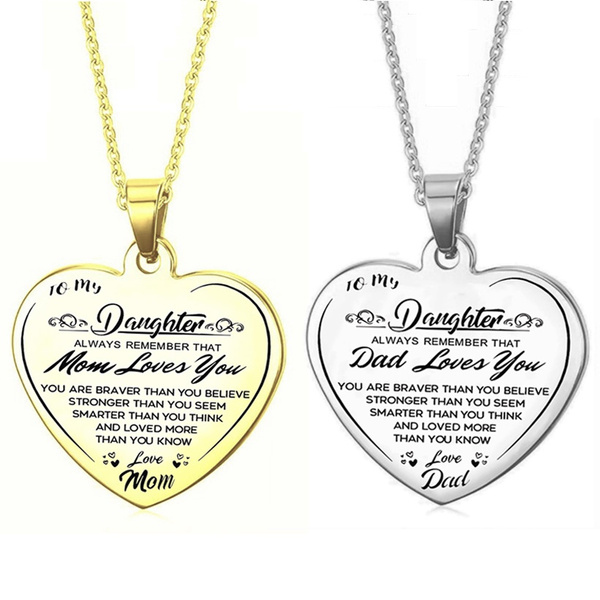 Steel, inspirationalnecklace, Necklaces Pendants, Love