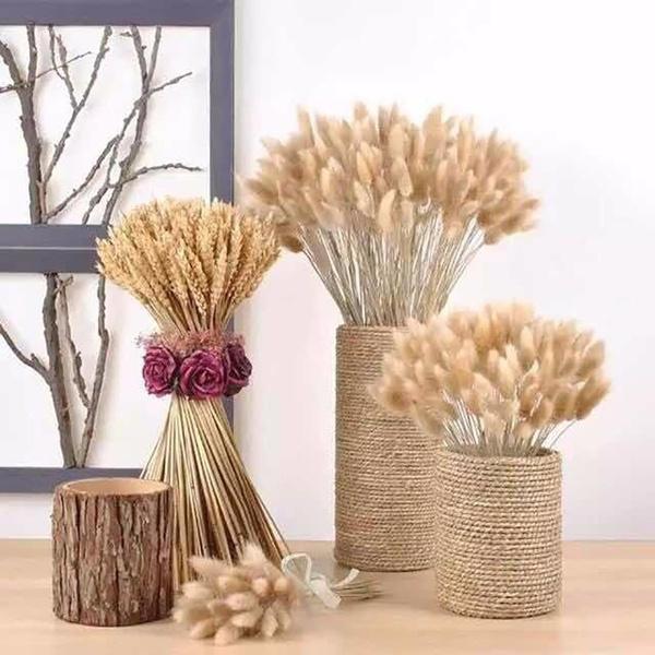 decoration, wheatear, wheat, rabbit