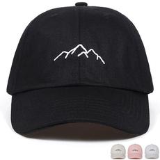 Mountain, Basketball, snapback cap, hats for women